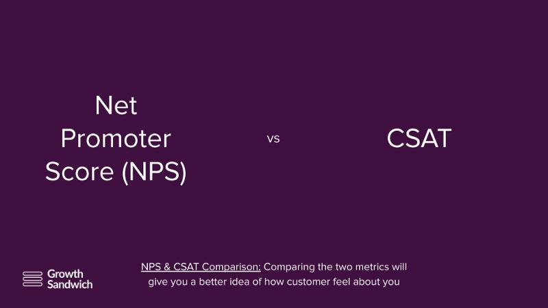 Net Promoter Score vs. CSAT