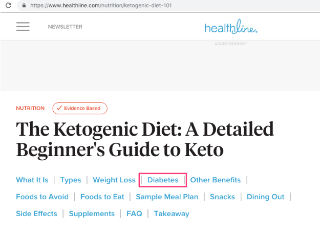Ketogenic Diet on Google
