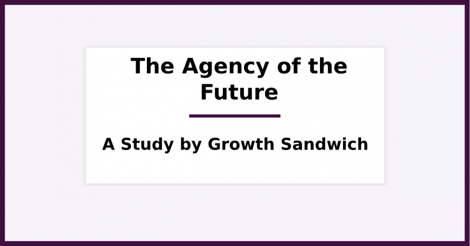 What Does the Agency of the Future Looks Like