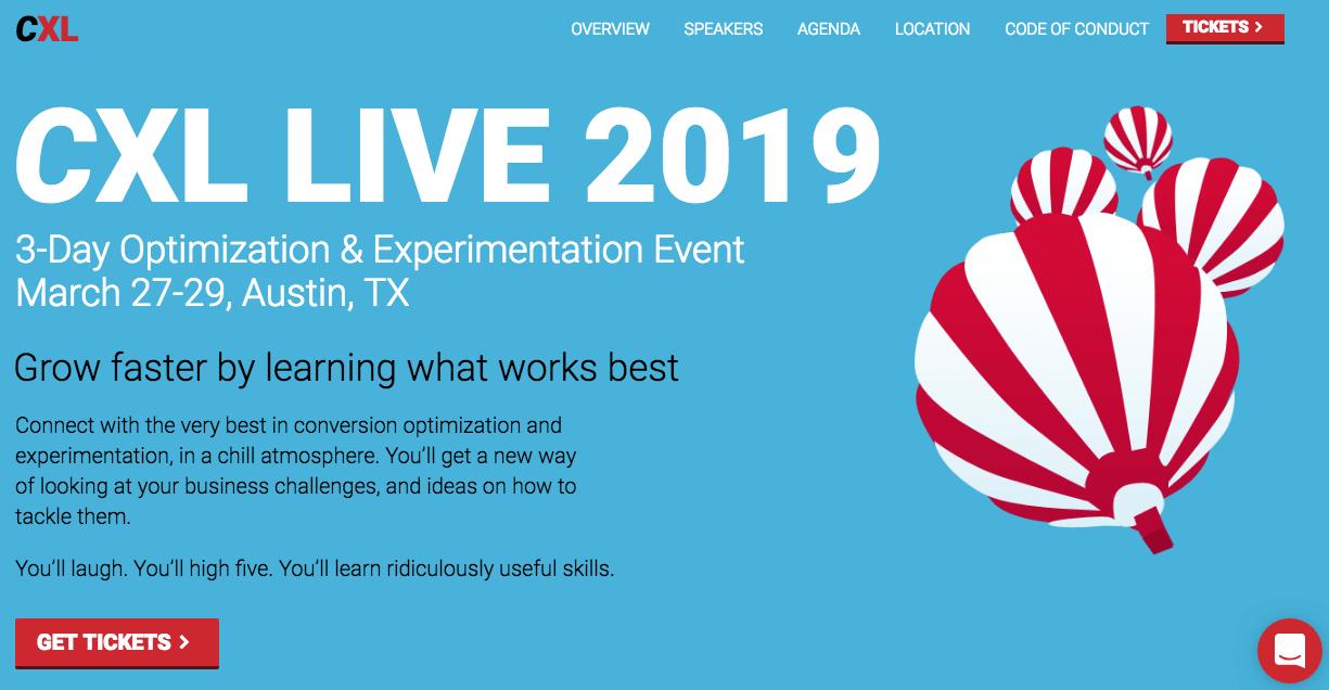 CXL Live 2019
