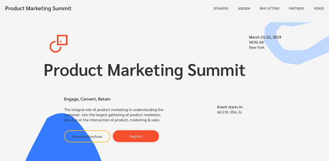 Product Marketing Summit
