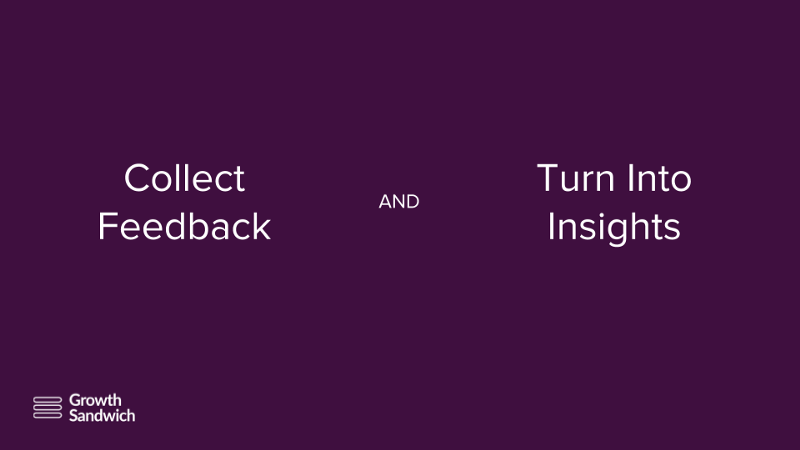 Collect Feedback & Turn Into Insights