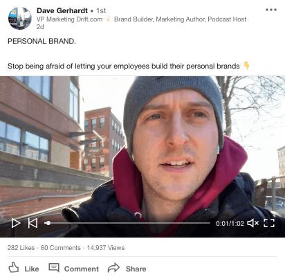 Dave Gerhardt on LinkedIn