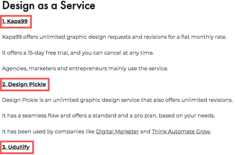 Design as a Service