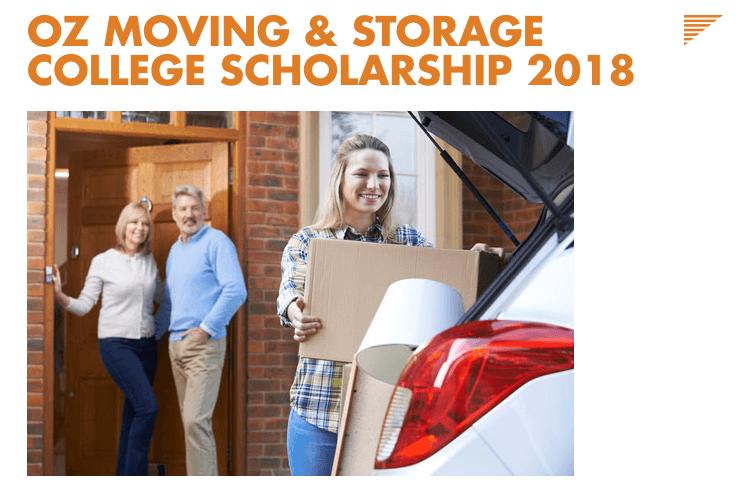 OZ Moving _ Storage Scholarship