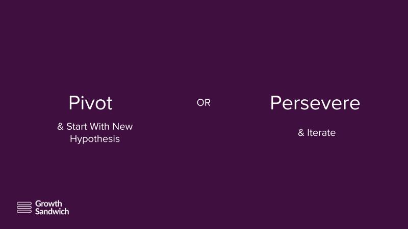 Pivot or Persevere