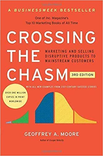 Crossing The Chasm - Marketing and Selling High-Tech Products to Mainstream Customers by Geoffrey A. Moore