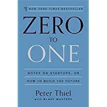 Zero to One by PeterThiel