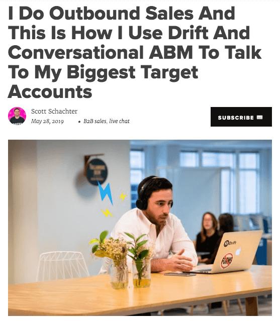 Blog Post by Drift