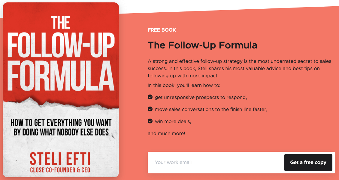 The Follow-up Formula by Close