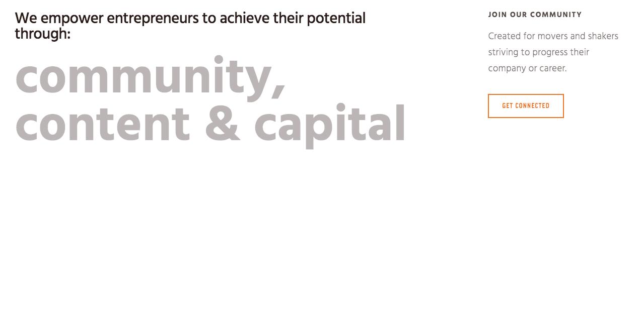 Atlanta Ventures Homepage.