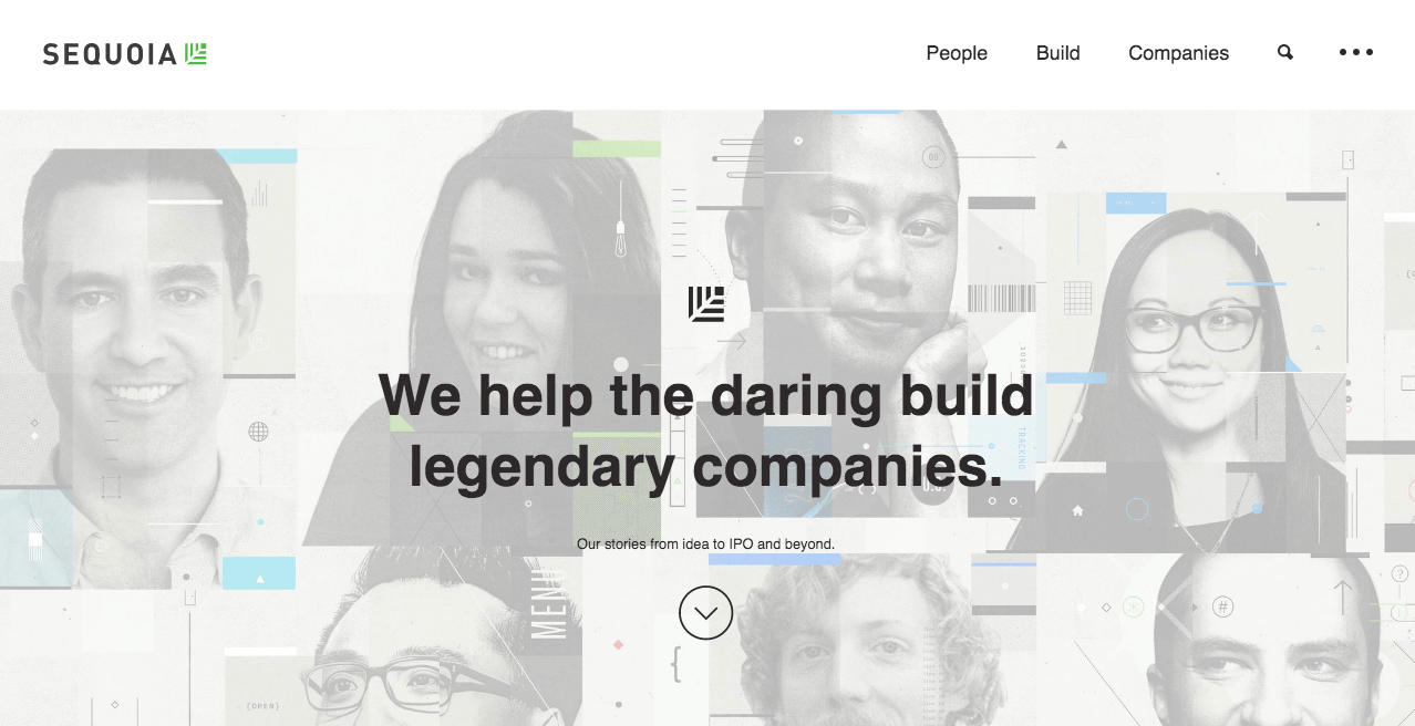 Sequoia Capital Homepage.