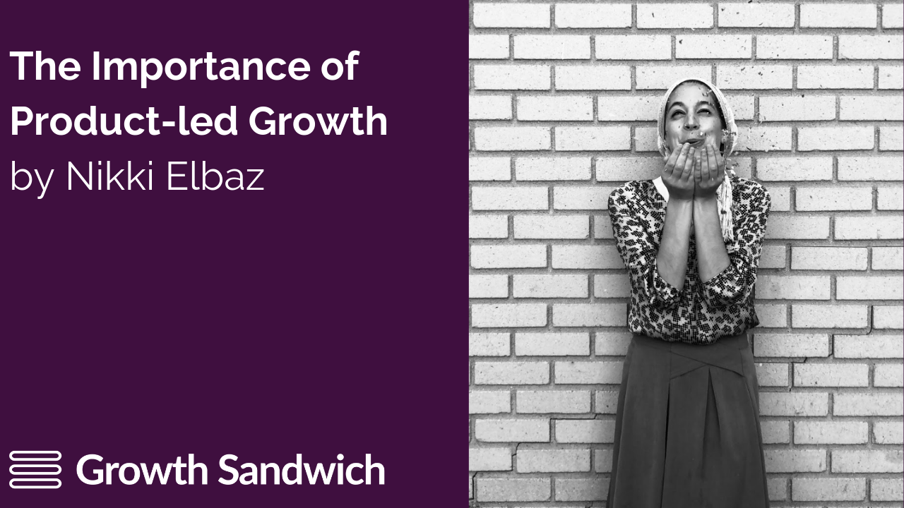 PLG Interview Series w: Nikki Elbaz (Email Strategist, Copyhackers). Featured image for blog post.