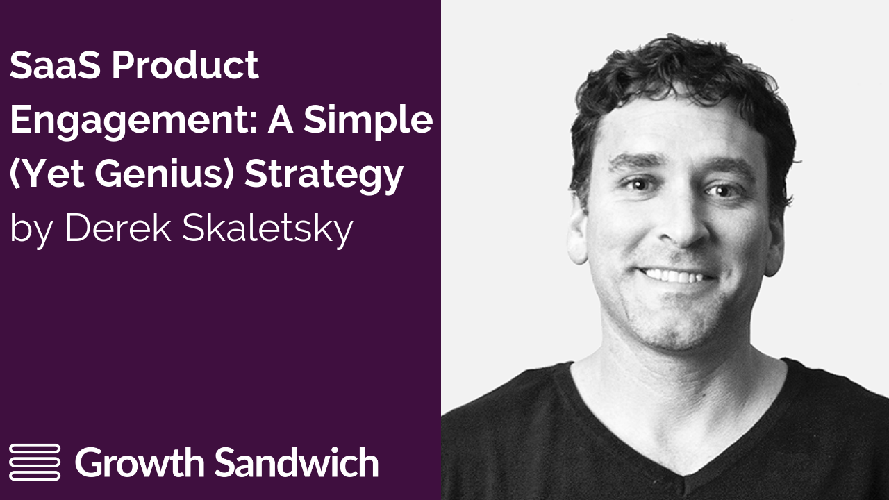 SaaS Product Engagement - A Simple (Yet Genius) Strategy by Sherlock. Featured image for blog post.
