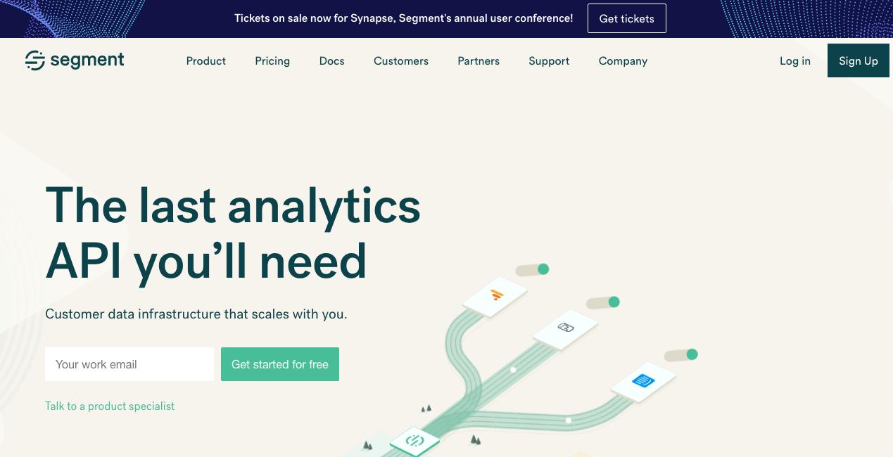 Segment Homepage