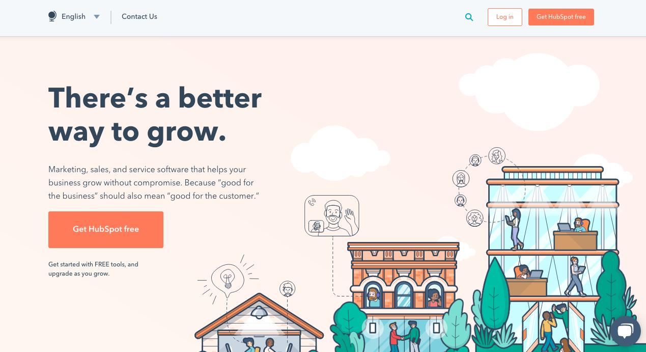 HubSpot Homepage 1