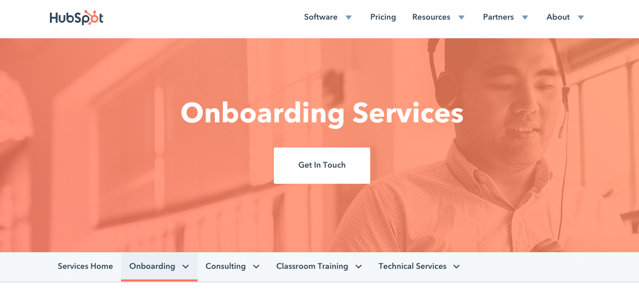 HubSpot Onboarding Services